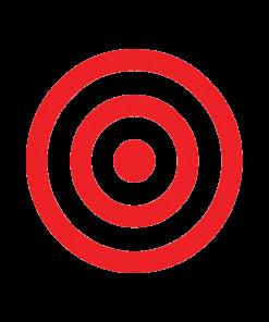 Bullseye-Red